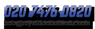 Call us on 020 7476 0820